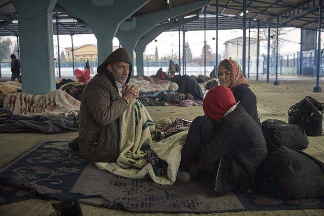 """Europa.-Ankara arremete contra la UE y su """"inacción"""" ante la crisis migratoria y"""