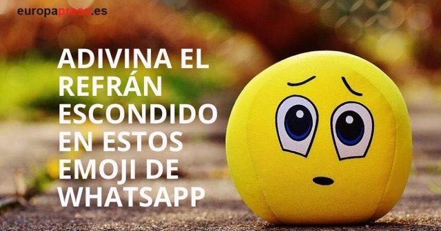 Juego: ¿Adivinarías los 21 refranes que se esconden en estos Emoji de Whatsapp?