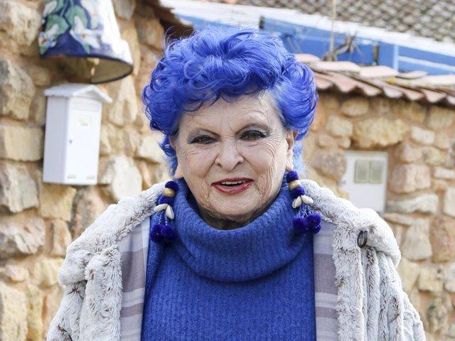 L'actriu Lucía Bosé.