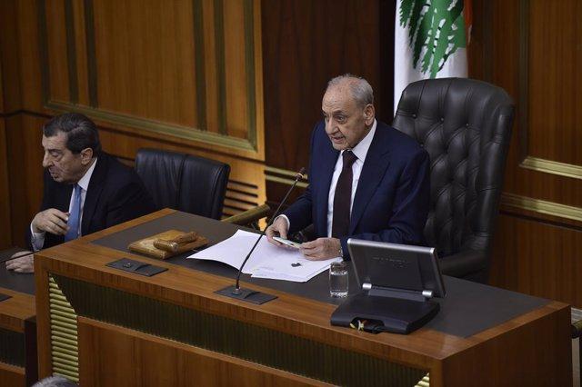 Coronavirus.- El Parlamento de Líbano suspende sus actividades a causa de la pan