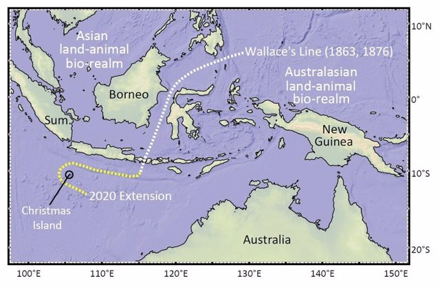 La isla Christmas obliga a desplazar el mapa de las especies
