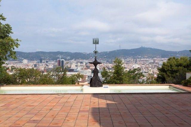 Patio Norte de la Fundació Miró