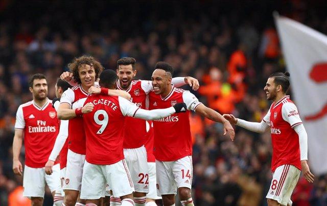 Fútbol.- Los jugadores del Arsenal seguirán en sus casas pese a haber cumplido l