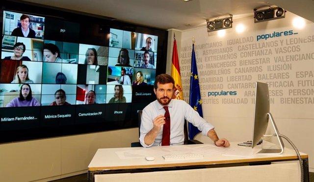 Coronavirus.- El PP defiende que se retrase el cobro de impuestos a todos los españoles