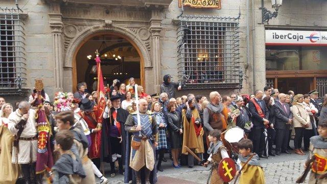 Fiesta del Primer Viernes de Mayo en Jaca (Archivo)