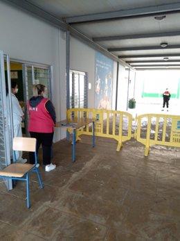 Recogida de alimentos en los colegios de Almería