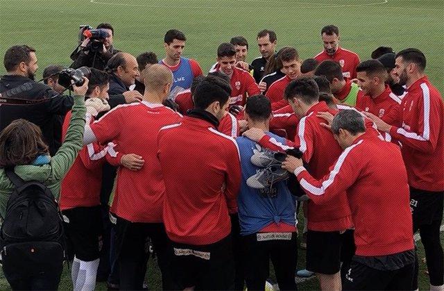 Fútbol.- La UD Logroñés presenta un Expediente de Regulación Temporal de Empleo
