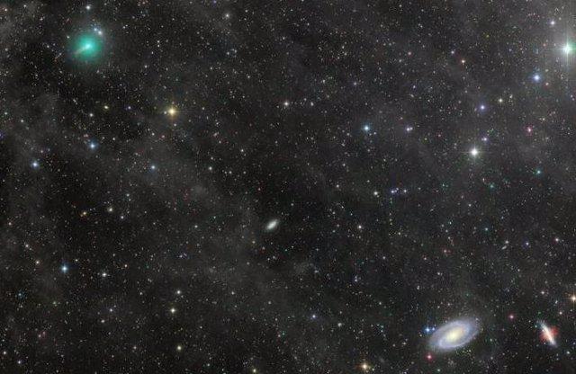 Un nuevo cometa será tan brillante en el cielo como Venus en junio