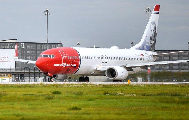 Avión Norwegian.
