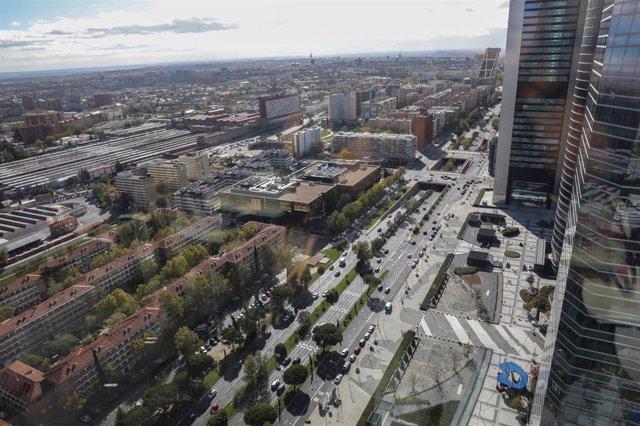 Fotos de recurso del proyecto urbanistico Madrid Nuevo Norte. Madrid (España), a domingo 3 de noviembre de 2019