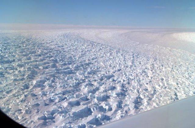 Débiles cimientos en un glaciar antártico que perdió 5 kilómetros en 22 años