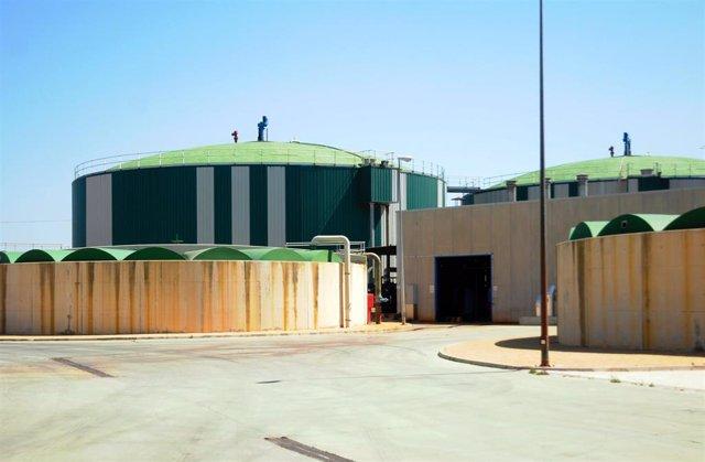 Depuradora de aguas residuales de Palma.