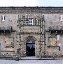 Imagen del Parador de Santiago de Compostela