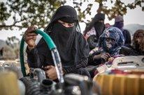Una mujer en Yemen