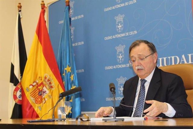 El presidente de la Ciudad, Juan Vivas (PP).