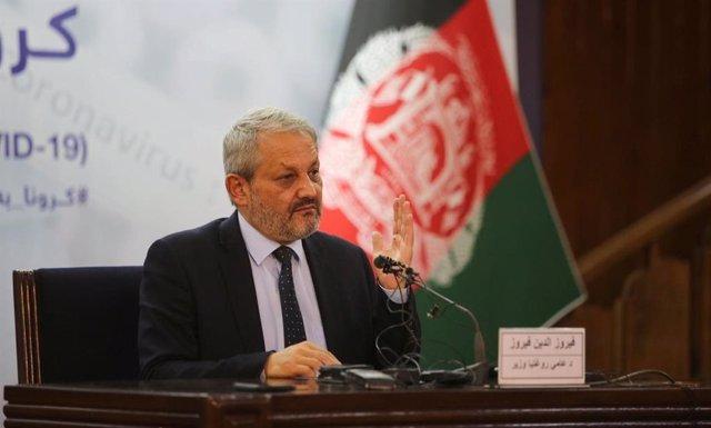 Coronavirus.- El ministro de Sanidad de Afganistán alerta de que el coronavirus