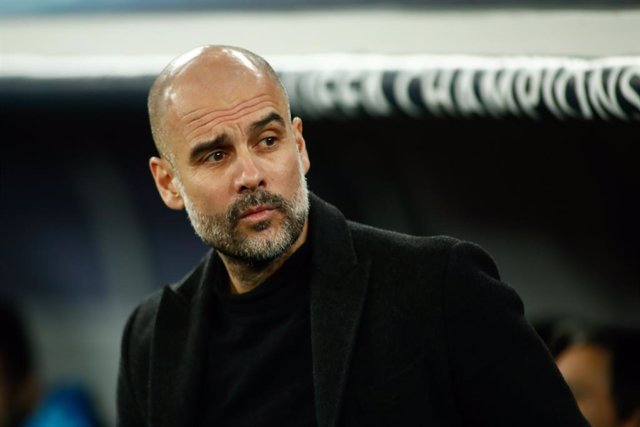 L'entrenador del Manchester City, Pep Guardiola. (Arxiu)