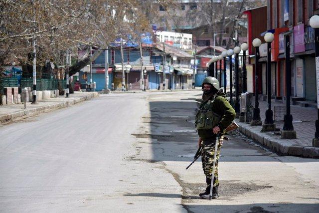 Toque de queda en Srinagar