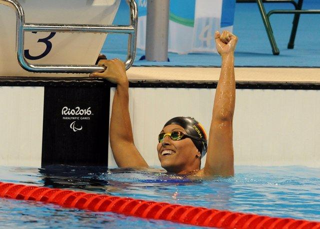 JJ.OO.- Los deportistas paralímpicos españoles tiran de optimismo y celebran el