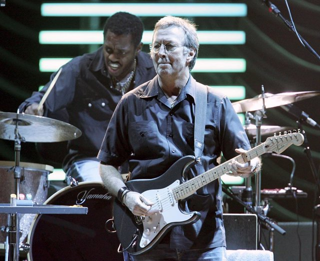 Eric Clapton In Concert At MGM Grand