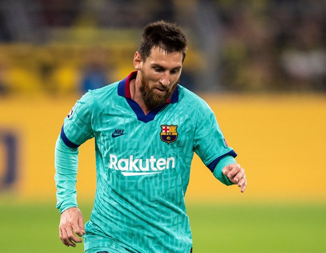 FILED - 17 September 2019, North Rhine-Westphalia, Dortmund: Barcelona's Lionel Messi in action during the UEFA Champions League Group F soccer match between Borussia Dortmund and FC Barcelona Photo: Marius Becker/dpa