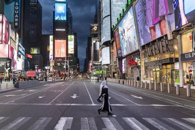 Nueva York durante el coronavirus.