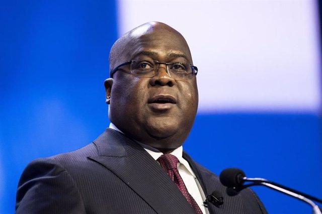 El presidente de República Democrática del Congo (RDC), Félix Tshisekedi
