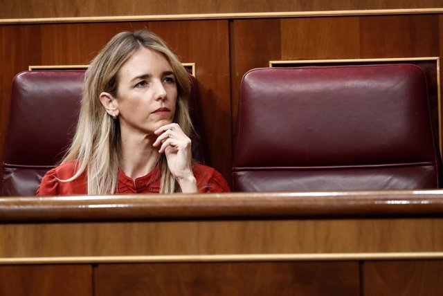 La portavoz del PP, Cayetana Álvarez de Toledo, en el Congreso de los Diputados