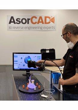 COMUNICADO: AsorCAD colabora en la fabricación urgente de material médico para c