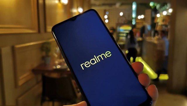 Presentación en Madrid del teléfono móvil Realme 5