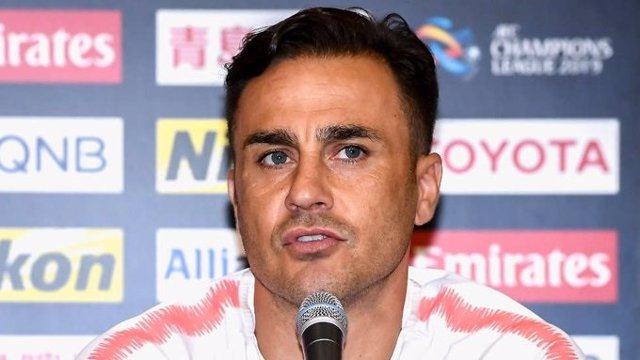El entrenador del Guangzhou Evergrande de China, el italiano Fabio Cannavaro