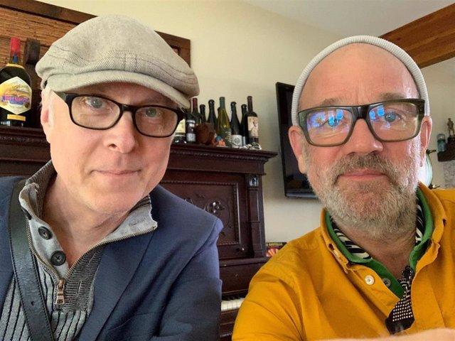Bill Rieflin y Michael Stipe