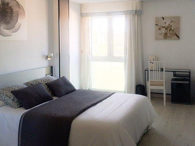 Imagen de archivo de una habitación del hotel Rey Sancho de Palencia