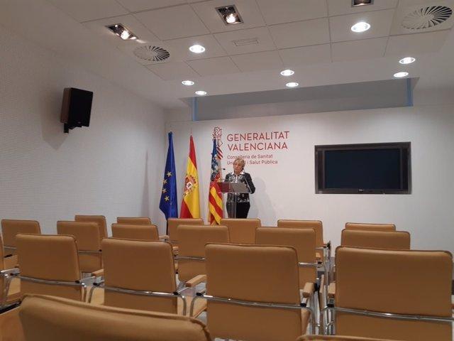 La consellera de Sanidad, Ana Barceló, ofrece los últimos datos sobre el coronavirus