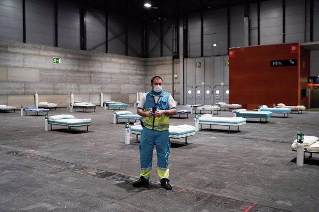 Hospital Temporal de la Comunidad de Madrid en Ifema por la crisis del coronavirus