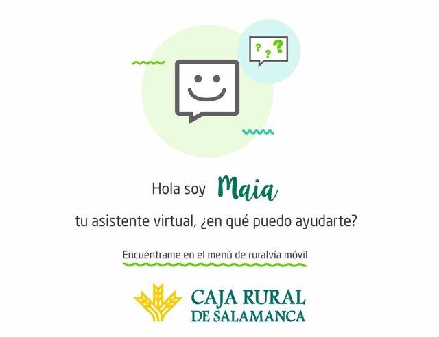 Aplicación de gestión que ofrece Caja Rural.