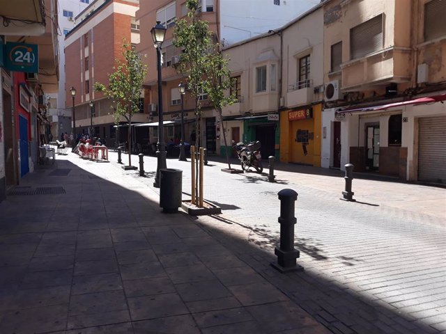 Barrio del Ayuntamiento de Almeria.
