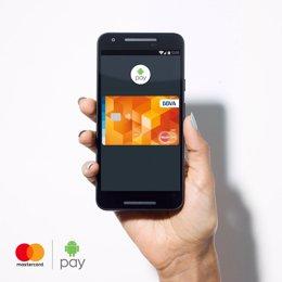 Android Pay Mastercard BBVA