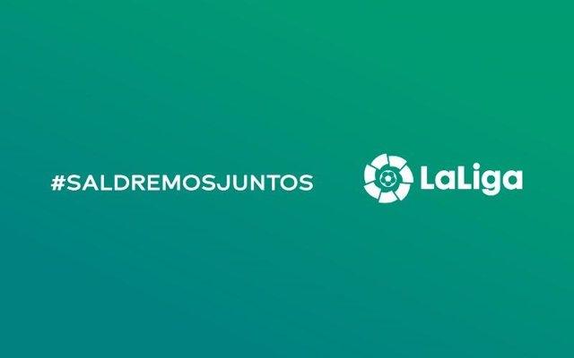 LaLiga se une a la iniciativa solidaria #SaldremosJuntos impulsada por Saúl Ñíguez