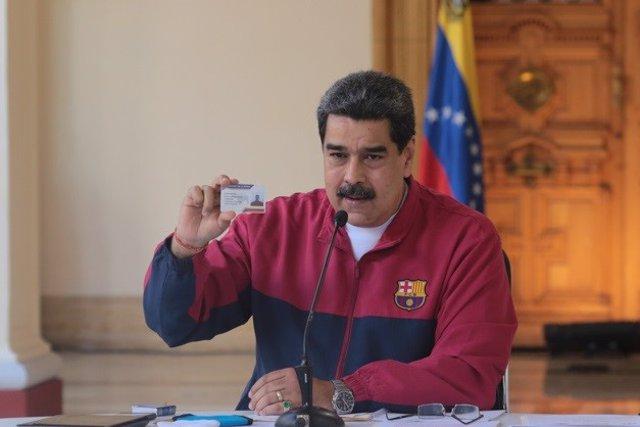 """Coronavirus.- Maduro dice que Venezuela ya ha entrado en la fase de """"casos comun"""