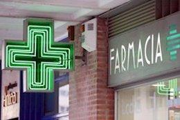 Imagen de archivo de una oficina de farmacia.