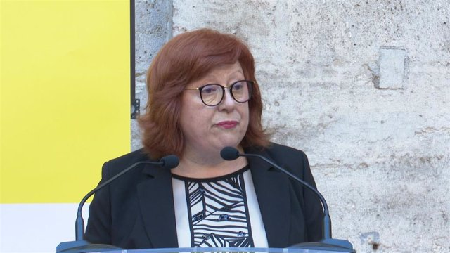 Gloria Calero en imagen de archivo