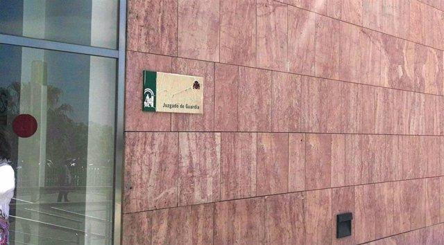 Cciudad de la Justicia de Málaga. Juzgado de Guardia