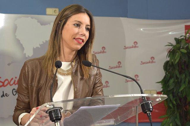Concejal del PSOE en Guadalajara, Lucía de Luz.