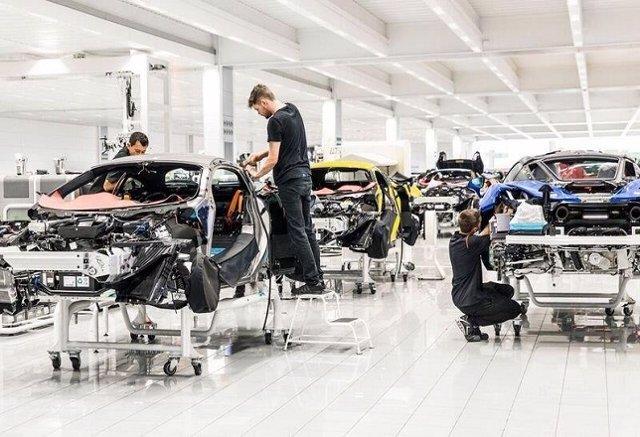 Centro de producción de McLaren