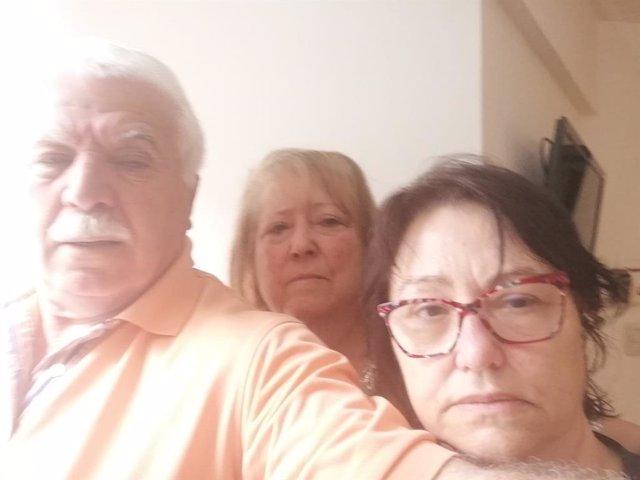 Los gallegos Lina Bernárdez, Antonio Puentes y María del Pilar Rivera, pendientes de repatriación a España desde Argentina