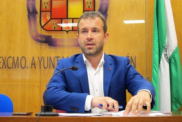 El alcalde de Jaén, Julio Millán/Archivo