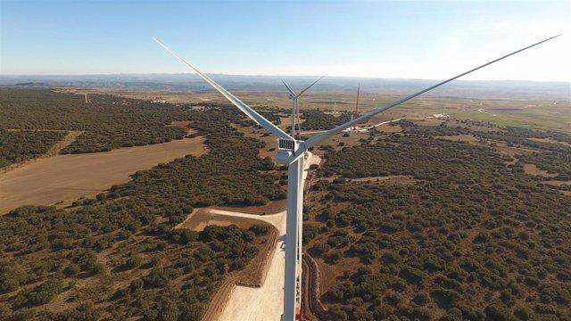 Enel Green Power España conecta cinco parques eólicos en Teruel con una inversión de 165 millones.
