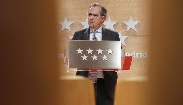 Imagen de recurso del consejero de Educación de la Comunidad de Madrid, Enrique Ossorio.