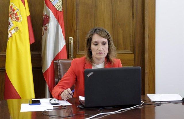 Rocío Lucas participa por videoconferencia en la sectorial de Educación